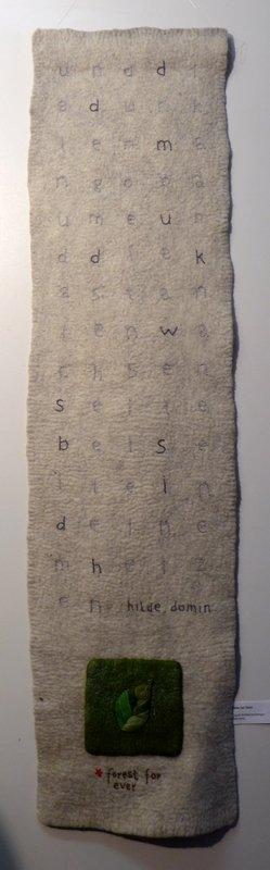 Sigrid Schwarzenberger: Seite bei Seite Ausstellung 'Forest for ever'