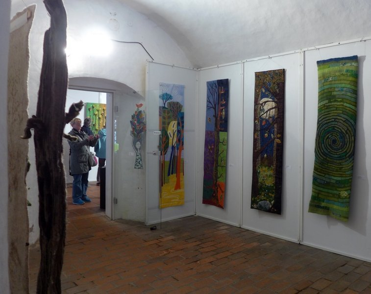 Blick in die Ausstellung 'Forest for ever'