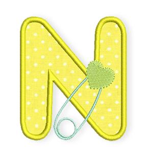 Baby-Alphabet-N