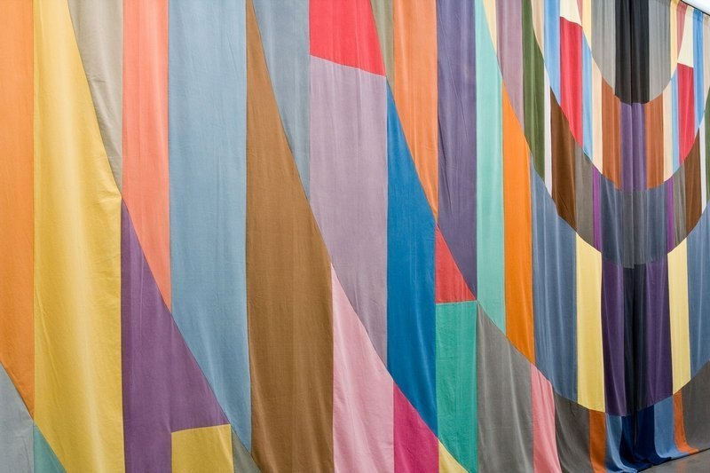 Ulla von Brandenburg (née en 1974) Curtain, Detail, 2007 Paris, Fonds national d'art contemporain ©Ulla von Brandenburg/CNAP Photo: courtesy Art Concept, Paris