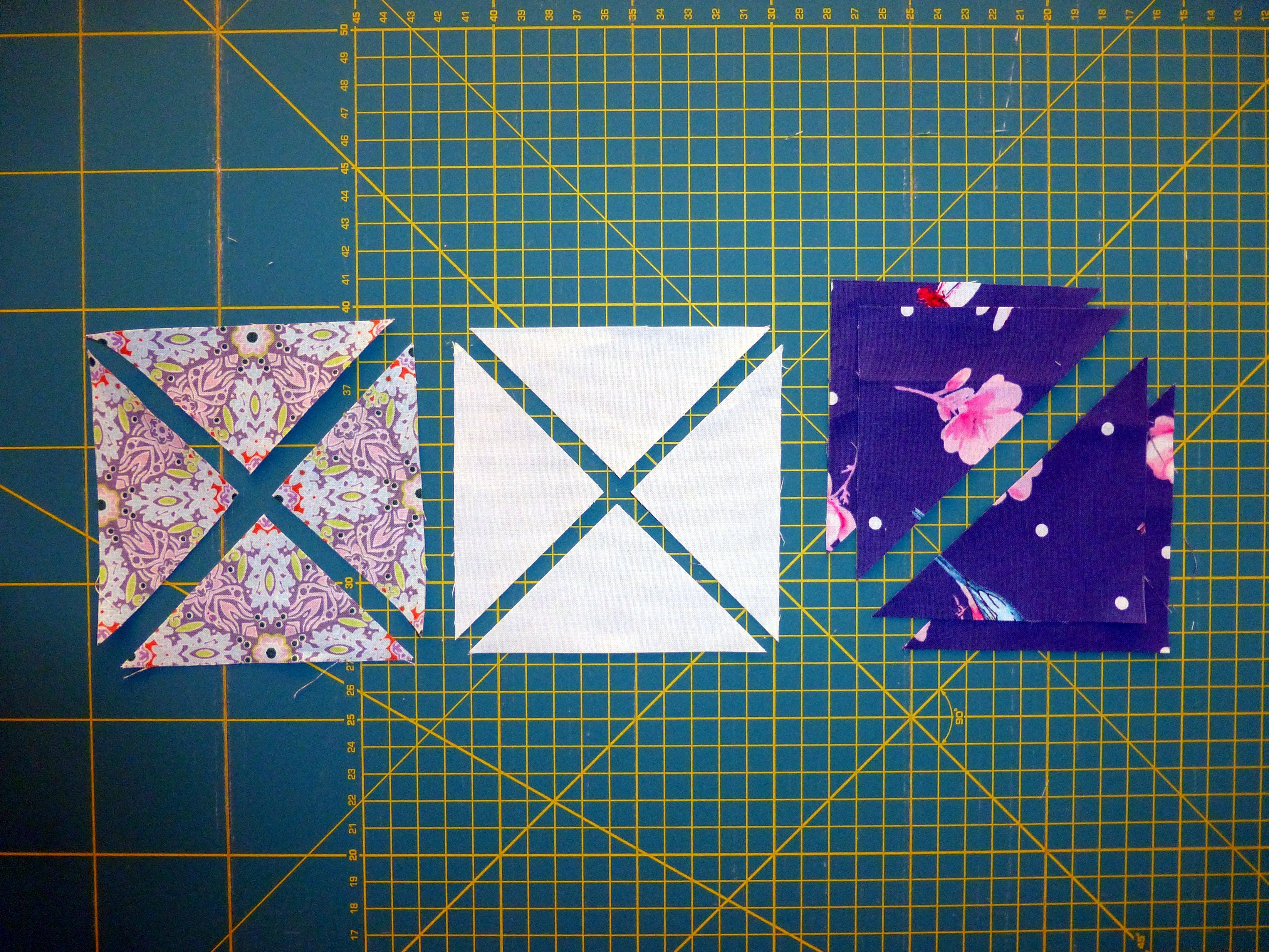 Double Pinwheel Blockmuster » BERNINA Blog