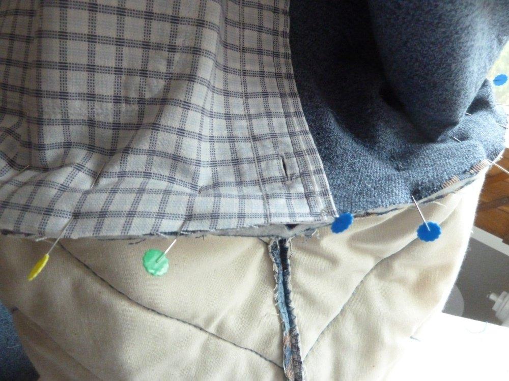 Jeansrecycling: die Tasche aus Jeanshemden