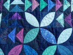 Nähanleitung Flying Geese nach Tula Pink: mein Quilt Flug der Gänse