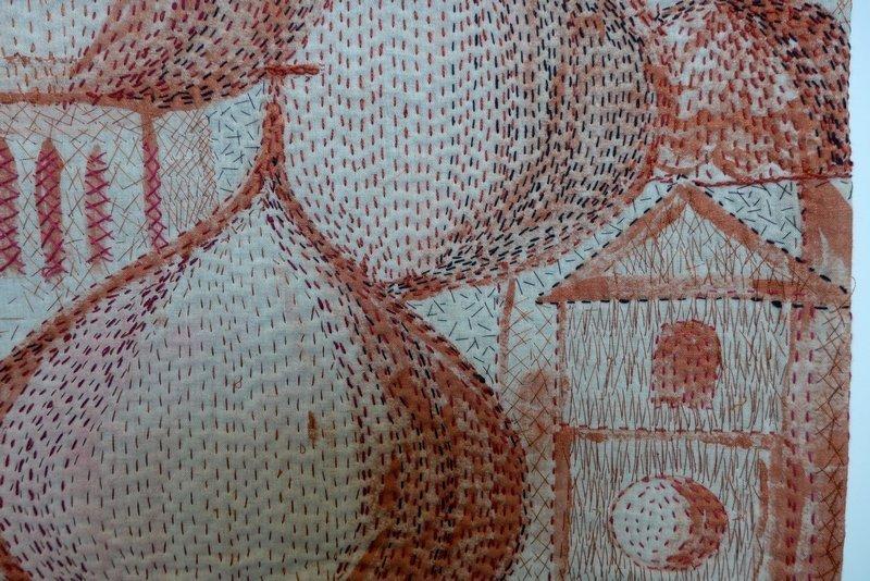Csilla Hegyi: Ost-West, Detail Modern Movement: Ausstellung 'Passages'