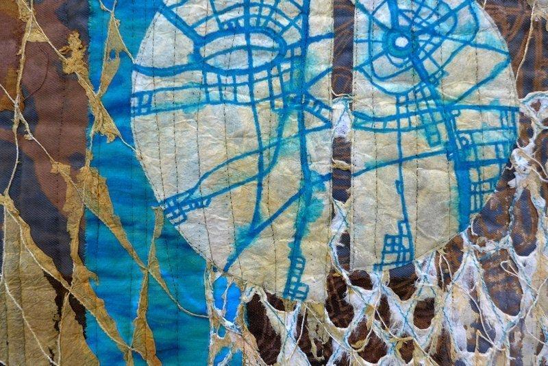 Eszter Bornemisza: Durch die Ebene, Detail Modern Movement: Ausstellung 'Passages'
