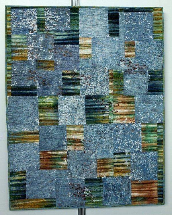 Elisabeth Nacenta de la Croix: River Junction Ausstellung 'Water Reflection'