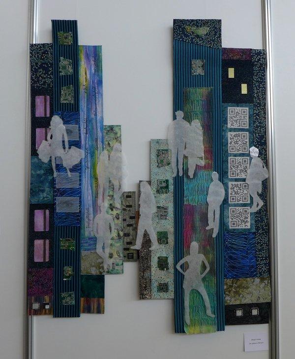 Birgit Friese: Der gläserne Mensch textilkunstalternativ - Die Alküns: Ausstellung 'Alküns IX'