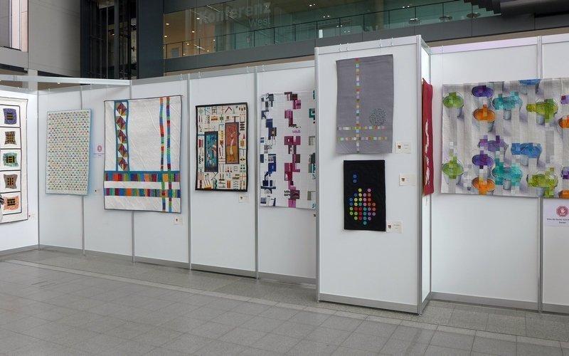 Modern Quilt Guild Stuttgart: Ausstellung 'Modern Quilting im Ländle'