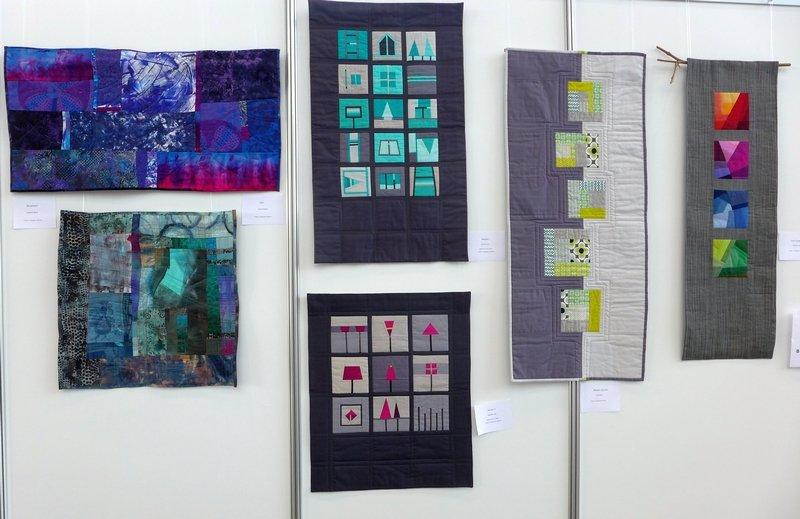 Modern Quilt Gruppe Heilbronn: Ausstellung 'Modern Quilting im Ländle'