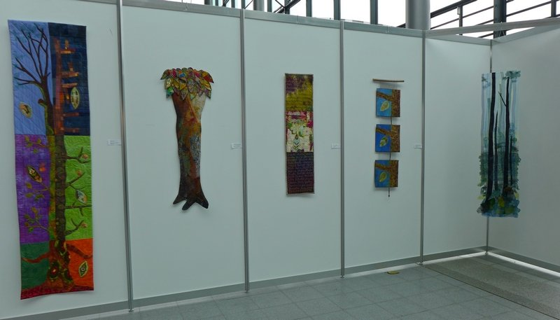 Blick in die Ausstellung 'Forest for ever'