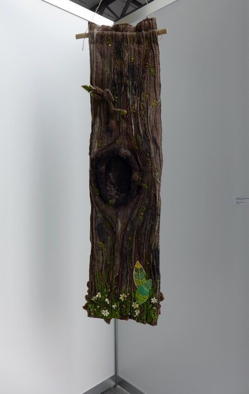 Angela Schlieper (D): Rotation of the seasons Ausstellung 'Forest for ever'