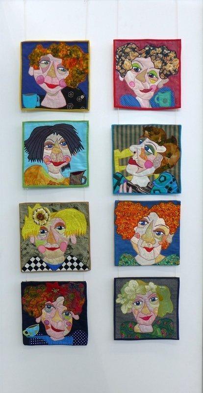 Ausstellung 'Bodils Patchwork Bilder'