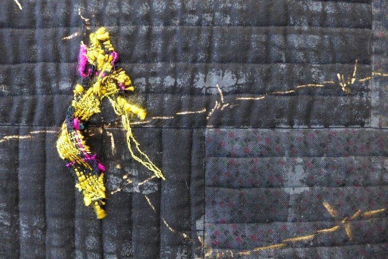 Aniko Horvath: Der eiserne Vorhang, Detail Modern Movement: Ausstellung 'Passages'