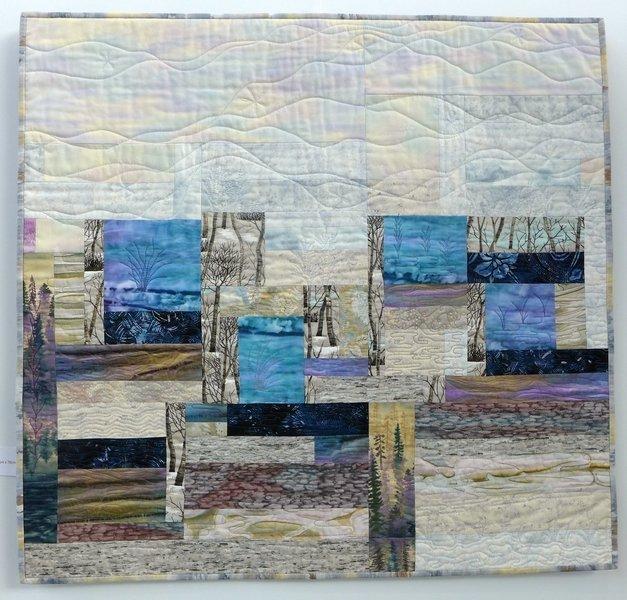 Elisabeth Nacenta de la Croix: In the Snow Ausstellung 'Water Reflection'