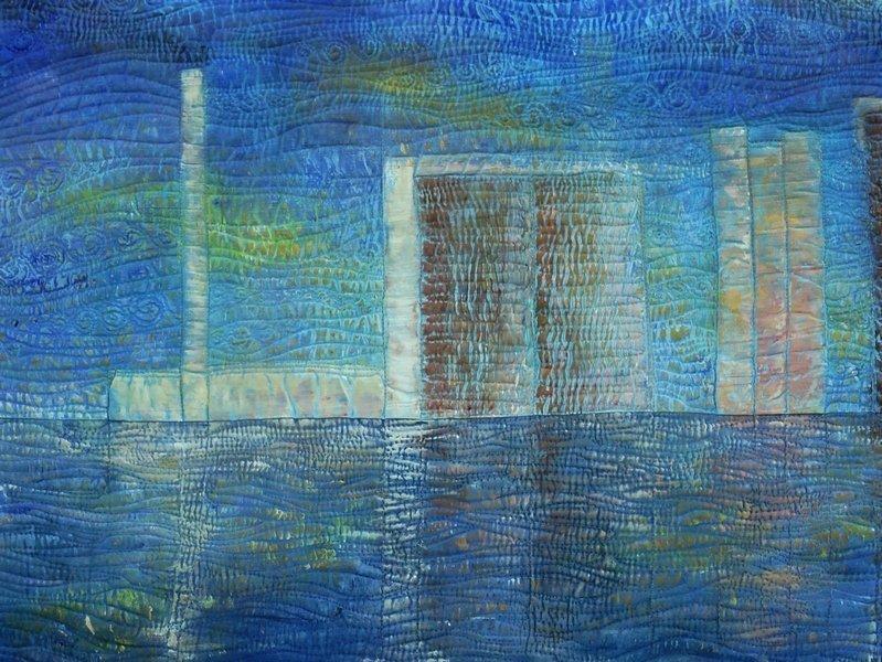 Isabelle Wiessler: Urban IV, 2011 Ausstellung 'Farbe zu Licht'