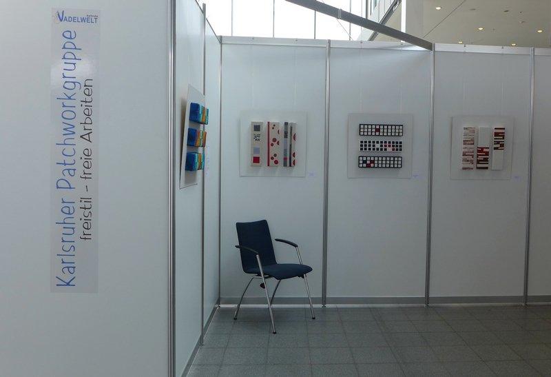 Blick in die Ausstellung der Patchworkgruppe Karlsruhe 'freistil'