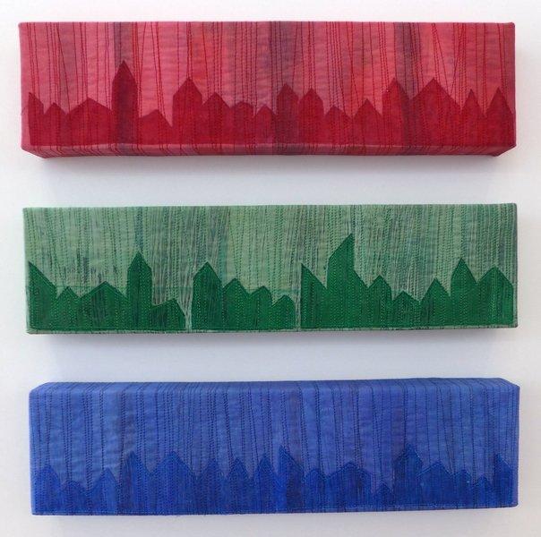 Arbeiten von Irmgard Bruder Ausstellung 'freistil'
