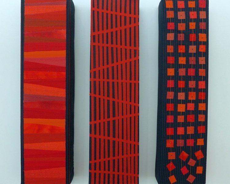 Arbeiten von Friederike Wanner Ausstellung 'freistil'