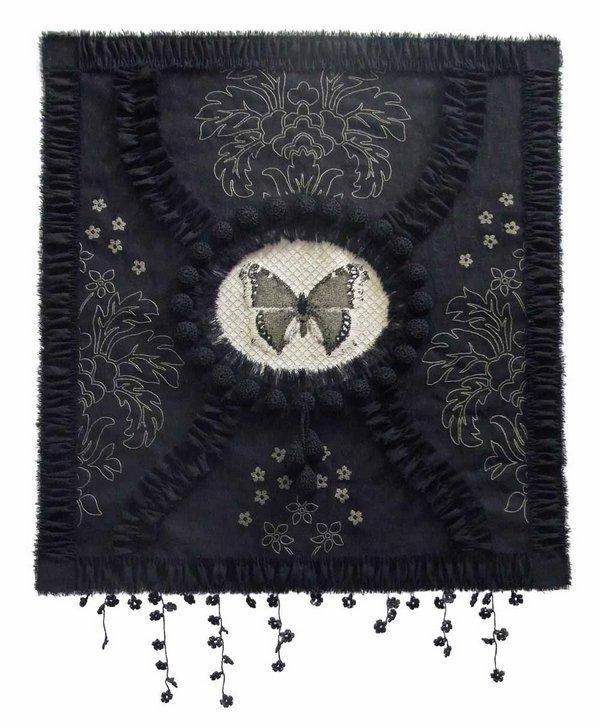 Rijswijk Textile Biennial 2015 Ying Chew: Forget Me not, 2013 Foto: Ying Chew