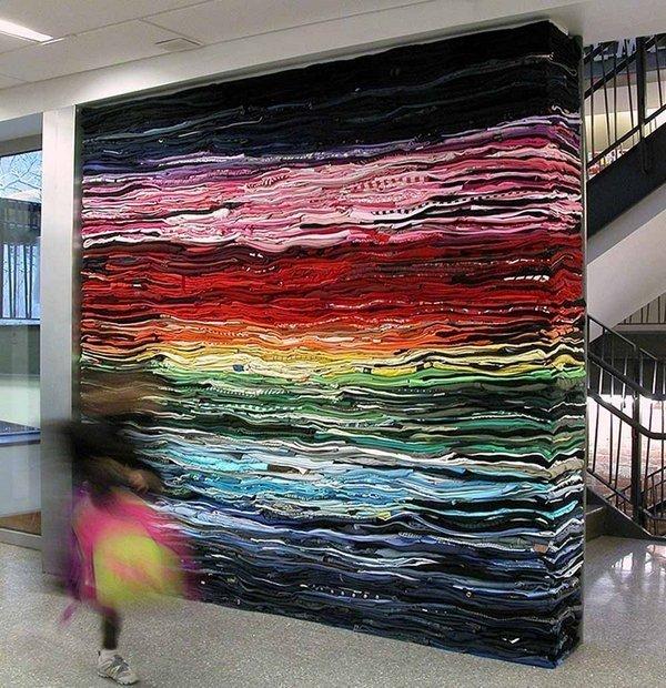 Rijswijk Textile Biennial 2015 Derick Melander: Into the Fold 2,  244 x 244 cm, 2010 Foto: Derick Melander
