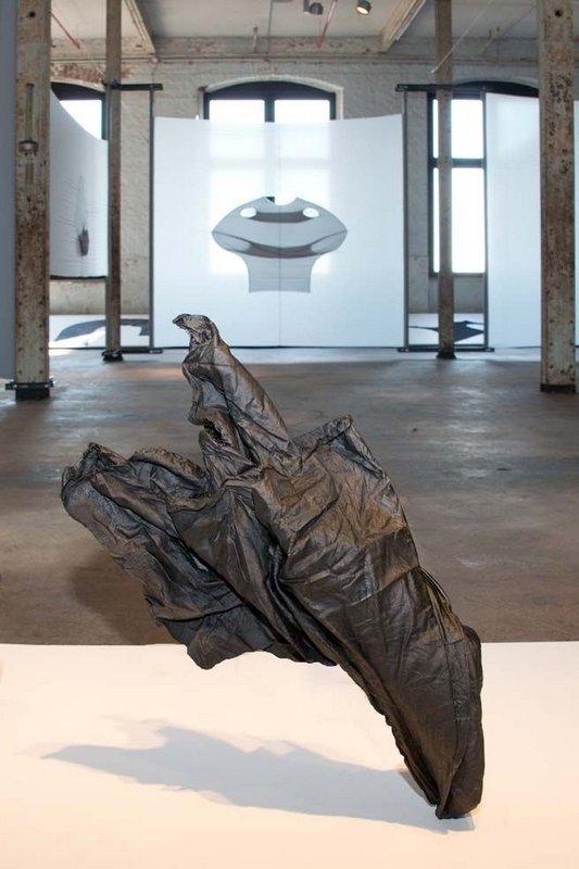Louise Walleneit: Geister, 2015, Detail Foto freundlicherweise vom LWL-Industriemuseu zur Verfügung gestellt