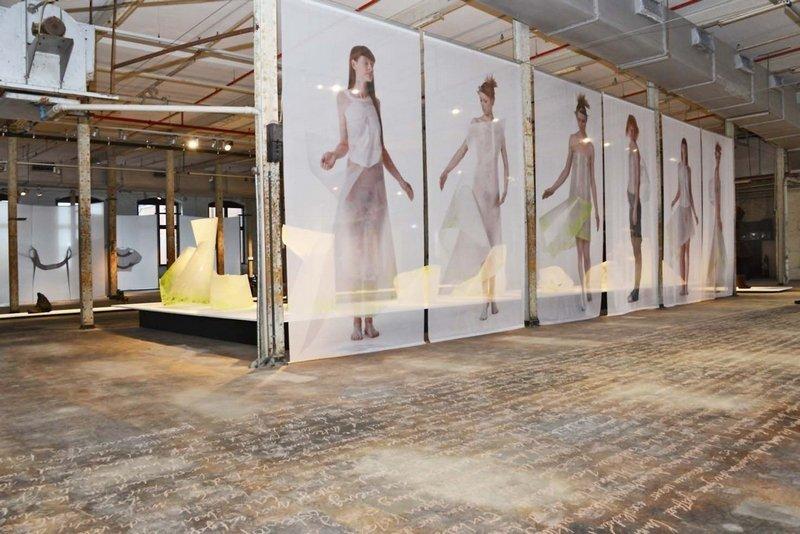 Louise Walleneit: Die Kleider vom Nullpunkt, 2007 - 09 Foto freundlicherweise vom LWL-Industriemuseum zur Verfügung gestellt