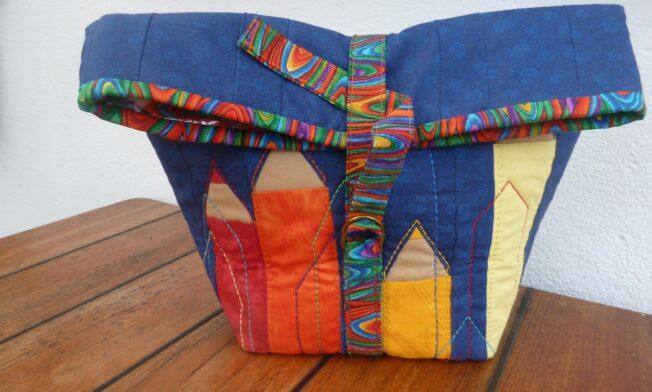 Nähanleitung Paper-Foundation: Lunch-bag
