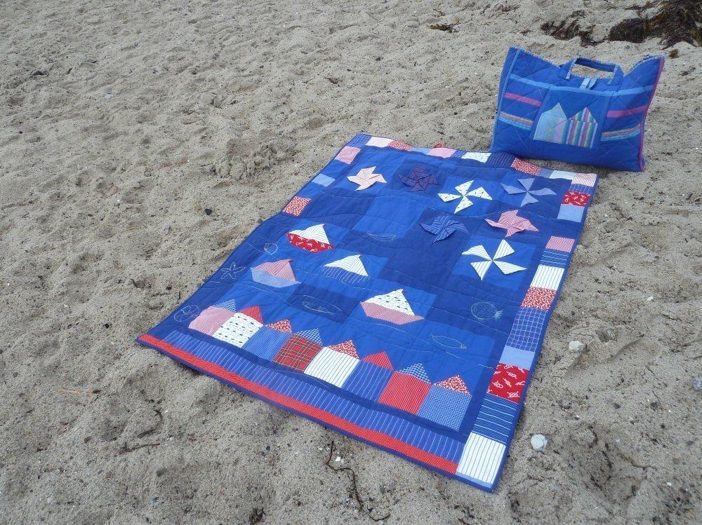 Nähanleitung Strandquilt