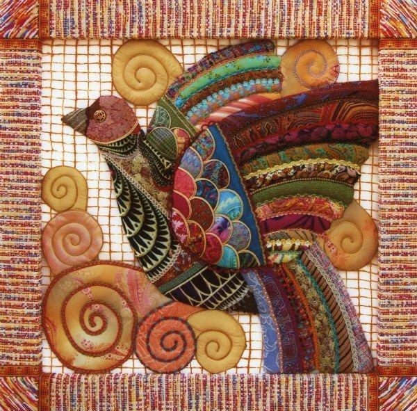 Ausstellung Russische Quilts Textile Fantasies of Vladimir Telnykh: Kursk Nightingale