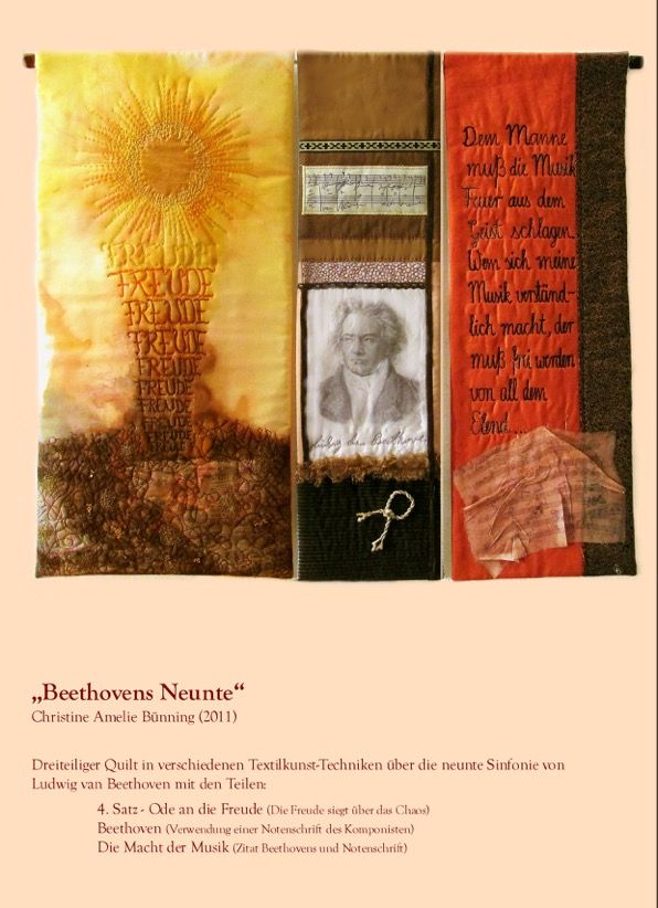 Christine Bünning: Beethovens Neunte Foto: Christine Bünning