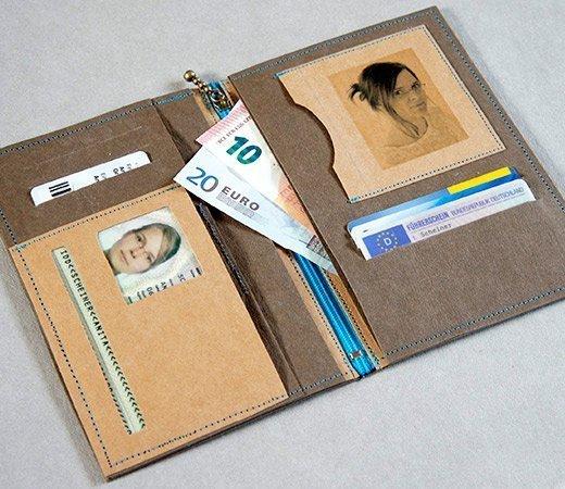 Nähanleitung Brieftasche SnapPap