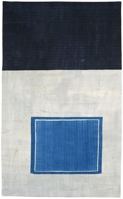 Claudia Helmer: Das blaue Fenster Foto freundlicherweise von den Künstlerinnen zur Verfügung gestellt