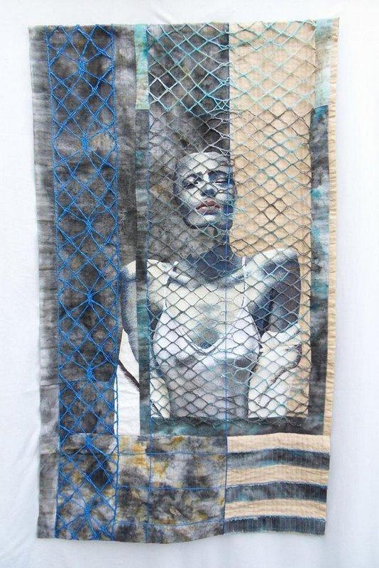 Geneviève Attinger: La Fille de l'Eté - l'Offrande Foto: Website patchwork-europe.eu