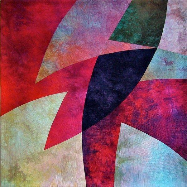 Heide Stoll-Weber: Shapes and Lines Foto: Website patchwork-europe.eu