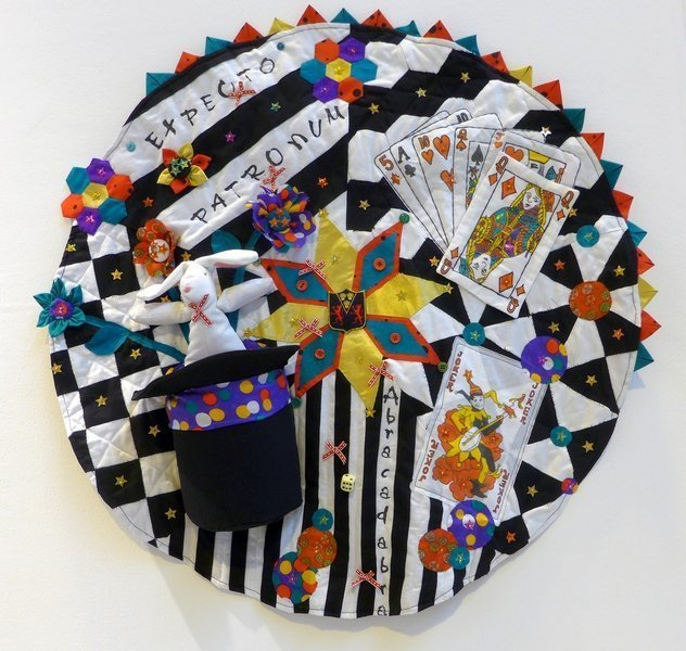 Watford Grammar School for Girls (12 - 16): The Magic Circle Winner Schools & Groups of Young Quilters The Festival of Quilts 2015