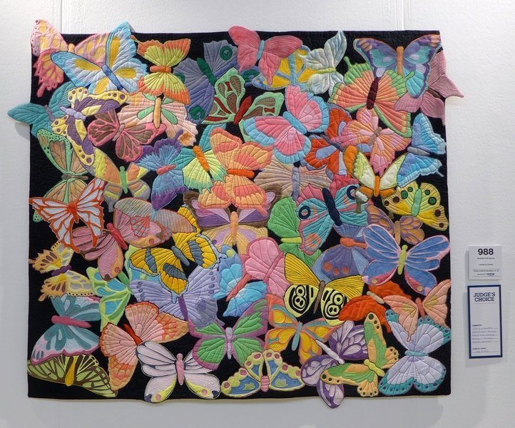 Sonsoles Ponti-Aguirre: Colores En Elvento Winner Young Quilter/Embroiderer 12 - 16 The Festival of Quilts 2015