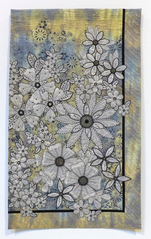 Lesley Brankin: Without Colour I Have No Voice Winner Contemporary Quilts The Festival of Quilts 2015
