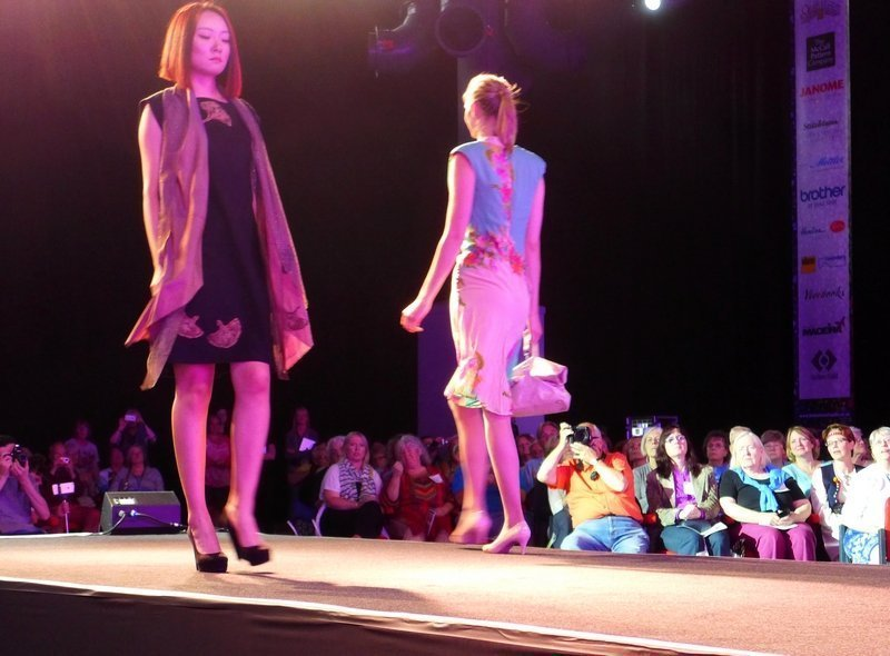 The Festival of Quilts Fashion Show 2015