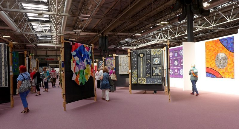 The Festival of Quilts 2015