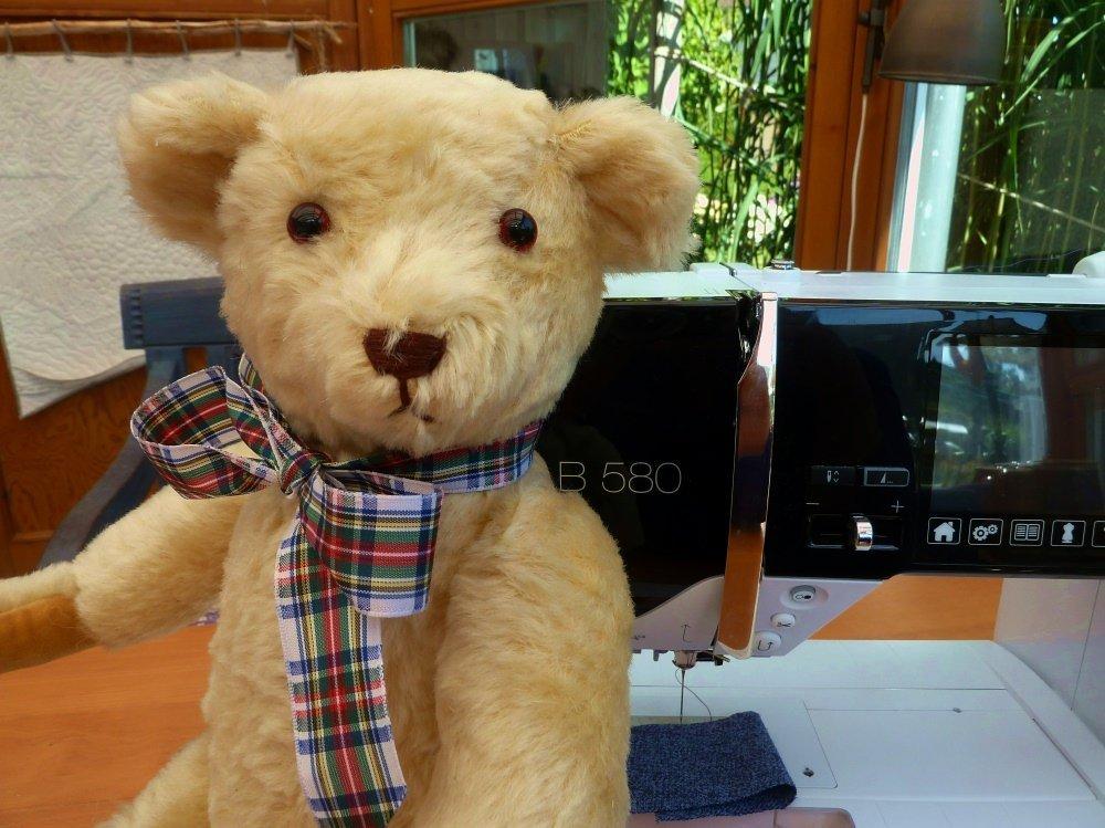 BERNIINA-Mitmachaktion 2015: Teddynähen