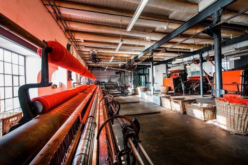 Spinnsaal im Tuchmacher Museum Bramsche Foto: Oliver Pracht