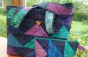 Nähanleitung Taschen mit Flying Geese