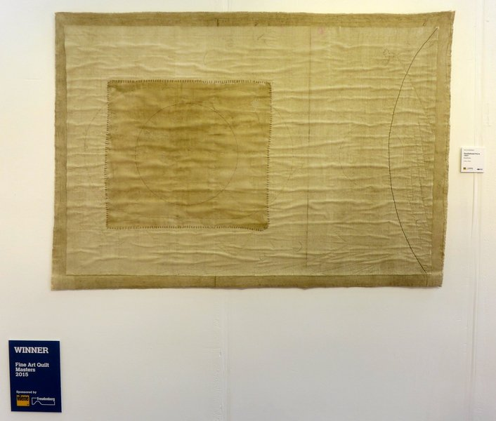 Susie Koren: Gravitational Force 1687 Ausstellung 'Fine Art Quilt Masters'  The Festival of Quilts 2015