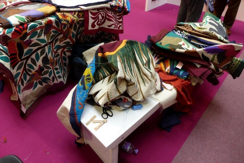 The Tentmakers of Cairo Ausstellung 'Men at Work' The Festival of Quilts 2015