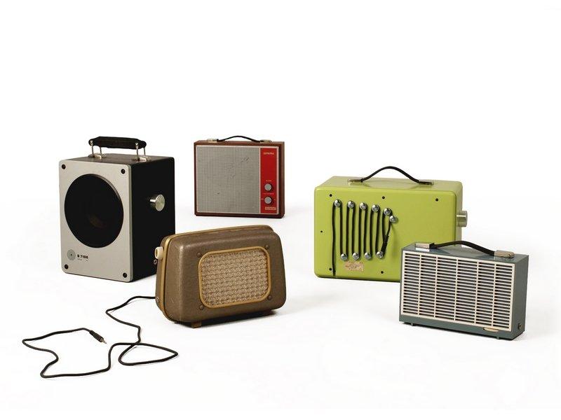 die fabrik (Stefan Hölldobler): Lautsprecher 'tombox' wiederverwertete Designlautsprecher Foto: © Barbara Proschak