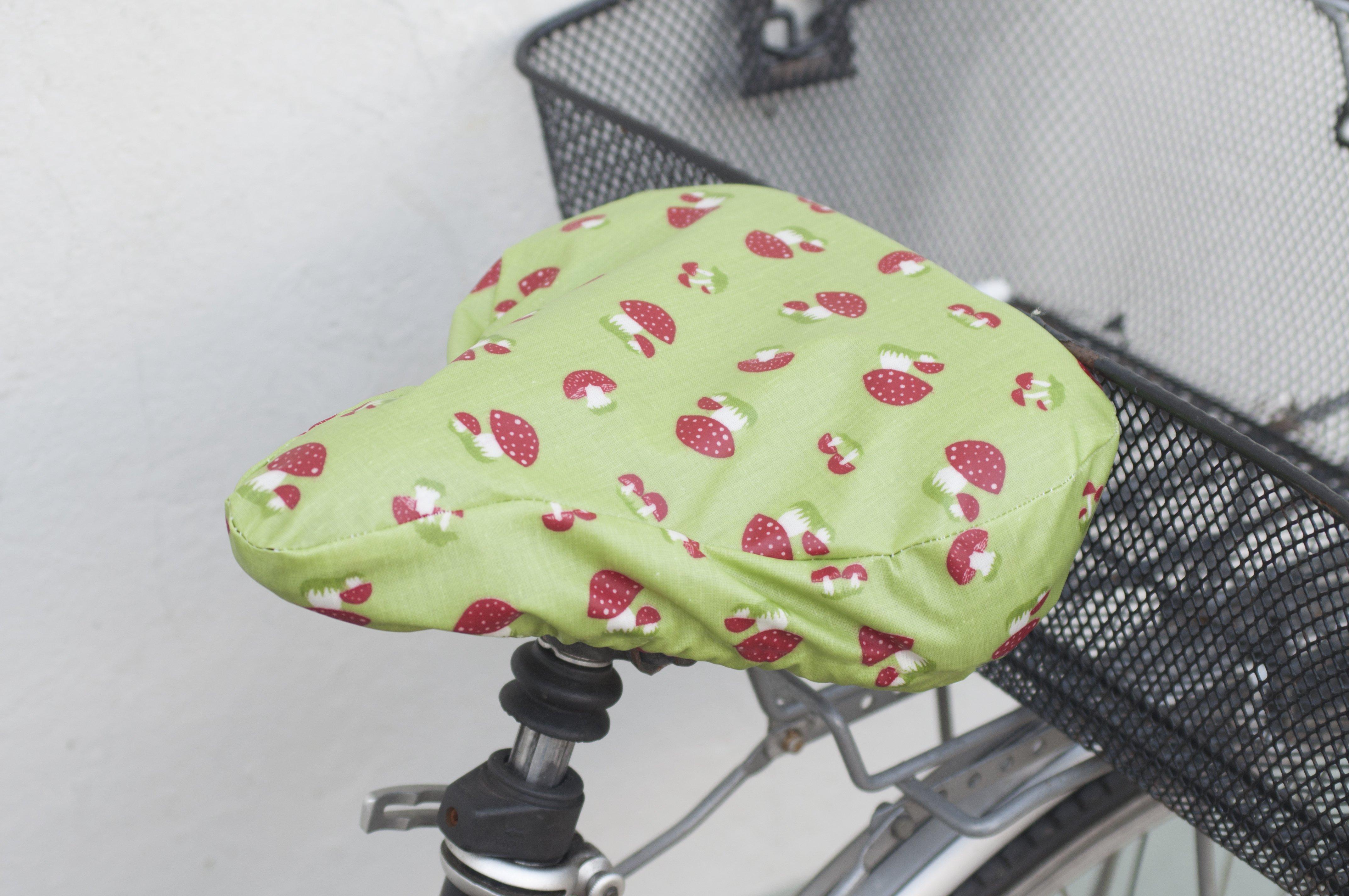 Regenschutz für den Fahrradsitz, Anleitung und Schnittmuster