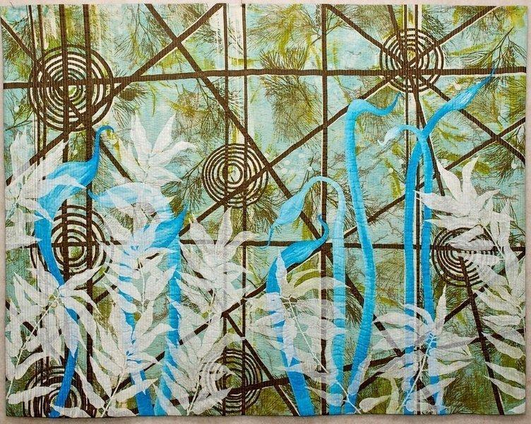Audrey Critchley: Winter Greenhouse Foto freundlicherweise von Leslie Morgan zur Verfügung gestellt
