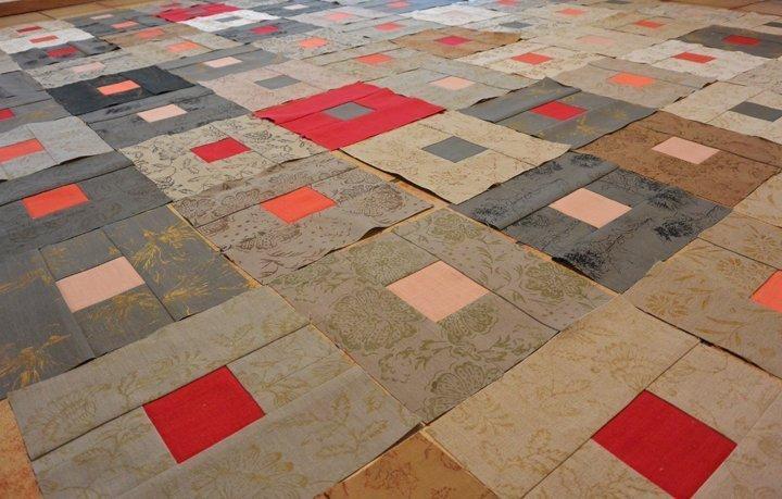 Fußboden Modern Quilt ~ Der leinen quilt bernina