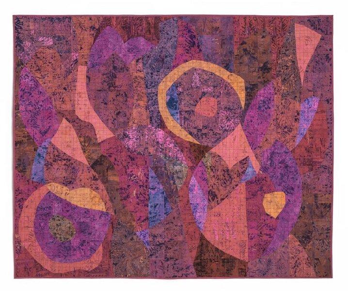 Janet Twin: Red Blooms Foto freundlicherweise von Leslie Morgan zur Verfügung gestellt