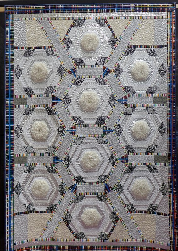 Birgitta Debenham: Ten Tiny Teddies (Contemporary Quilts) The Festival of Quilts 2015